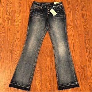 NEW Maurices Denim Flex Released Hem Boot Jeans 2